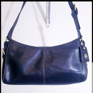 Etienne Aigner genuine leather shoulder bag
